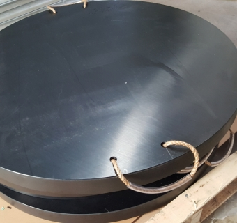 High Density Polyethylene Crane Pads