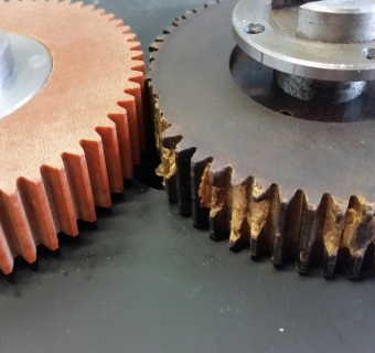 Composite Gear for High Temperature Applications