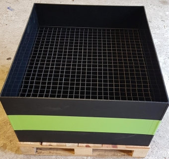 Logistic Box to protect components in transit