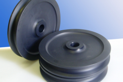 Black Nylon Pulleys