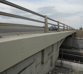 Polypropylene Cable Enclosures for Bridge Project
