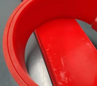 Polyurethane Skirting Rubber